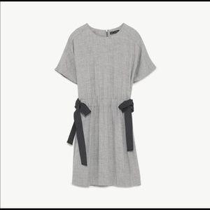 Zara grey mini dress